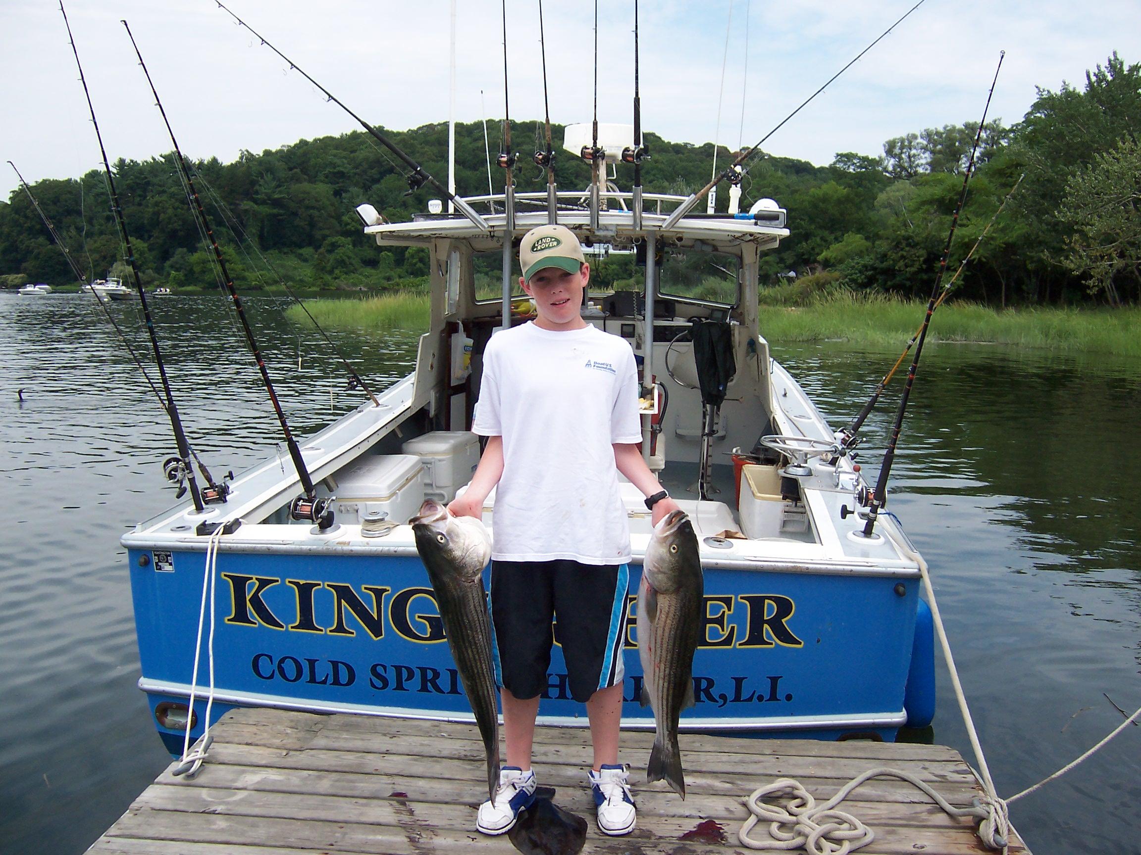 Fishing charters north shore long island sound north for Fishing boats long island